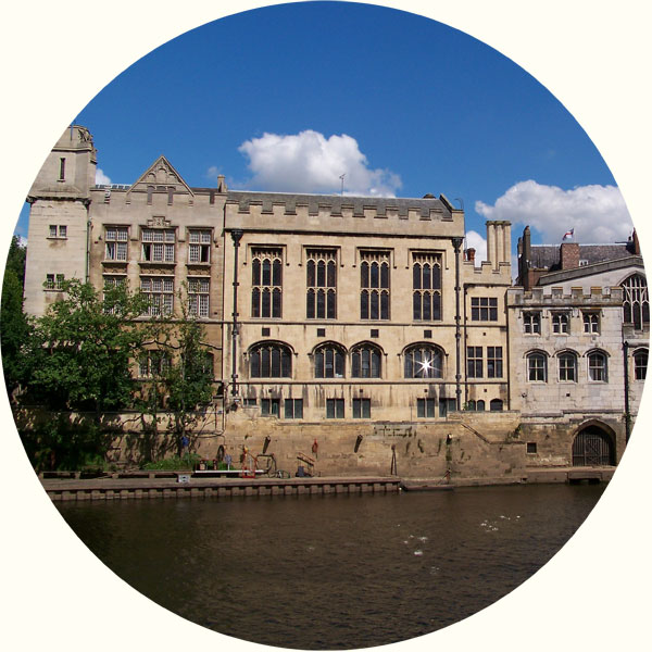 Photograph of Guildhall, York